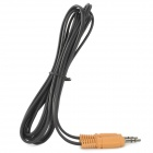 Edifier AUC-121B 3.5mm Male to Male Audio Cable - Orange + Black (173cm)
