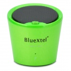 Bluextel BTSP04 Bluetooth v3.0 + EDR Speaker w/ Microphone - Green + Black