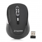RH5255 2.4GHz Wireless 800/1600dpi USB Optical Mouse - Black