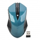 651516Q 2.4GHz Wireless 1200dpi Optical Mouse - Blue + Black
