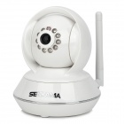 SENKAMA RT8808-HD 1.0MP CMOS Wireless IP Network Camera w/ Mic / Wi-Fi / 10-IR LED / TF - White