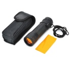 Handy Mini 10X HD Aluminum Alloy + Rubber Monocular Telescope - Black