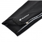 NUCKILY F005 Sun Protection Bike Cycling Leg Warmer Sleeve - Black (Size L / Pair)