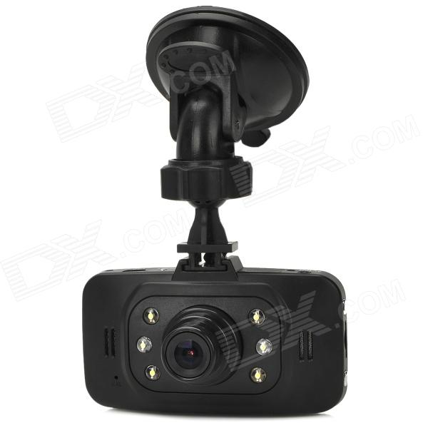 "AX903 720P 2.7"" TFT 1.3 MP CMOS Wide Angle Car DVR Camcorder w/ 6-LED / TF / AV-Out - Black"