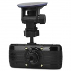 "L3000F 2.7"" TFT 5.0 MP CMOS Car DVR Camcorder w/ 4X Digital Zoom - Black"