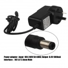 SingFire 5,5 x 2,5 mm AU Plug Power Adapter - Svart (116cm / AC 100 ~ 240V)