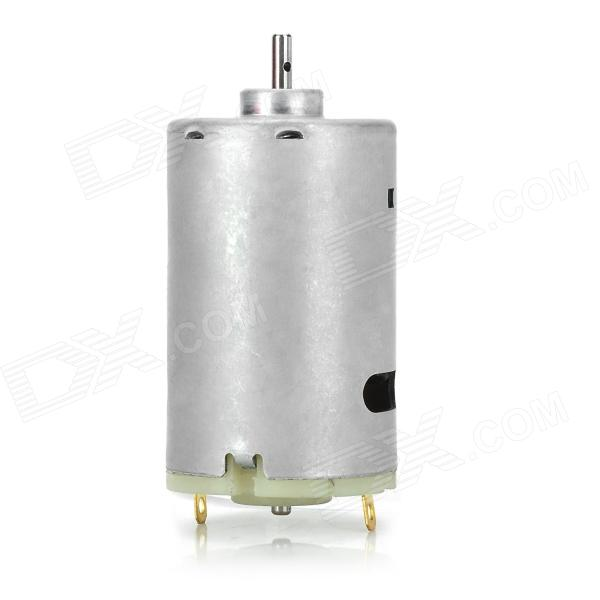 MIN555 DIY DC 12~24V Micro Motor - Silver fast shipping 5hp dc motor suit for treadmill model universal motor