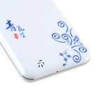 "S1000C Android 4.2.2 MT6572 4.5"" Dual-Core Phone w/ 512MB RAM, 4GB ROM, Dual SIM - White + Blue"