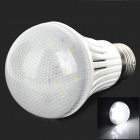 E27 7W 600lm 6500K 14-5730 SMD LED White Light Radar Sensor Bulb Lamp (85~265V)