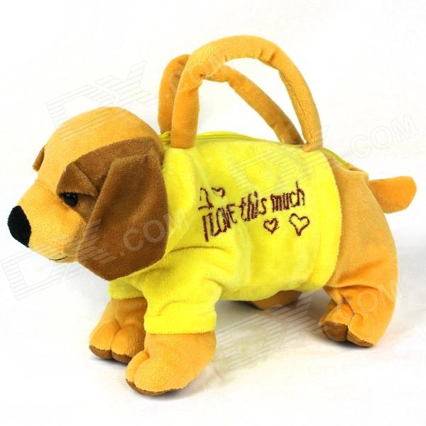 Cute Children's Labrador Doll Handbag - Yellow