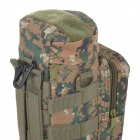 SW3072 Handy Multifunctional Outdoor Mosaic Pattern 600D Nylon Water Bottle Bag - Camouflage