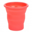 GEL126 Outdoor Portable Foldable Silicone Cup - Red