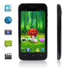 "Utime i15 MTK6572 Dual-Core Android 4.2 WCDMA Bar Puhelin w / 4,5"" FWVGA, 4 GB ROM, GPS, FM - musta"