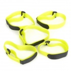 Buckle Velcro Bundling Belt Strap - Yellow Green (20 x 400mm / 5 PCS)