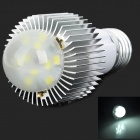 HUANGAO E27 6W 450lm 6500K 10-LED White Light Bulb Lamp (110~220V)