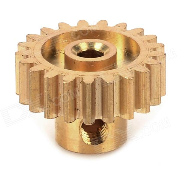 HSP 11171 Replacement 21T Motor Pinion Gear for 1/10 R/C Car - Golden