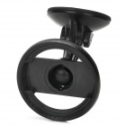 BW170 Convenient Suction Cup Car Mounted Holder for Tomtom V4 125 / 130 / 140 + More - Black