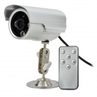 Wasserdichte CMOS Digitale CCTV-Kamera w / TF / 3-IR-LED - Silber (PAL)