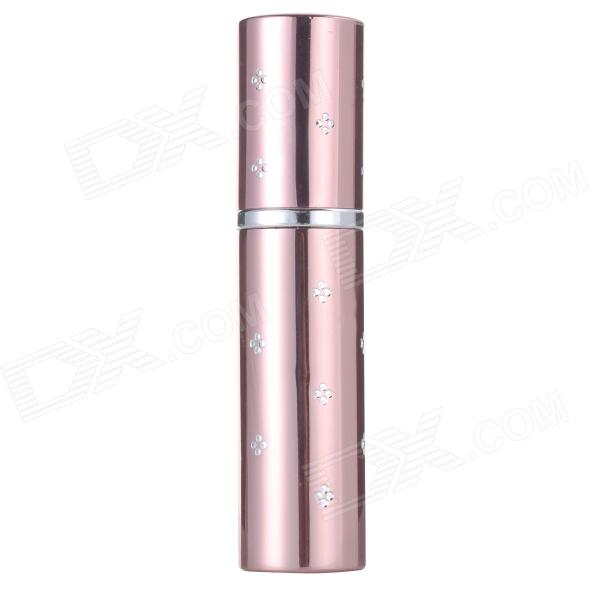 Aluminum Liquid Make-up / Perfume Sprayer - Silver + Champagne (10ml)