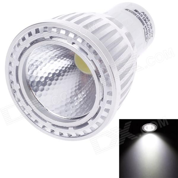 ZIYU ZY-0812-007 GU5.3 MR16 5W 400lm 6000K COB LED White Light Lamp Bulb - Silver + White (85~265V) цена