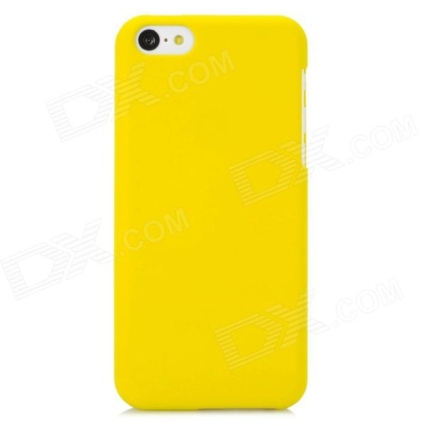 Protective PC Back Case for Iphone 5C - Yellow