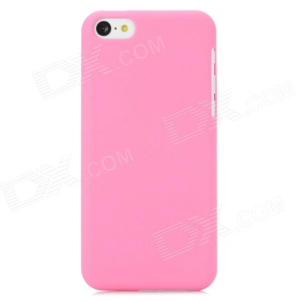Protective PC Back Case for Iphone 5C - Pink ipega i5056 waterproof protective case for iphone 5 5s 5c pink