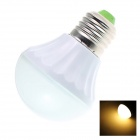 GCD MX3 E27 5.5W 250lm 2700K 18-SMD 5630 LED Warm White Light Lamp Bulb - White (AC 220~240V)