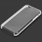 Protective Plastic Back Case for iPhone 5c - White + Transparent
