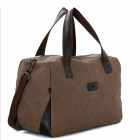 K-922 Large-Capacity-Reisen Canvas Bag - Brown