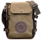 1211 Outdoor Tactical Canvas Canvas Shoulder Bag  - Coffee