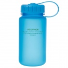 UZSPACE High-quality Leak-proof Frosted Bottle With Filter Cover - Blue (350ml)