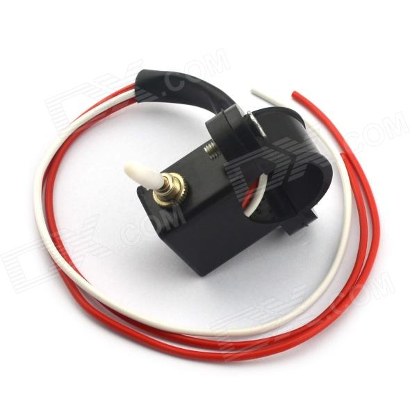 Jtron 04020028 Motorcycle Double Flash Light Toggle Switch