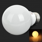 LeXing LX-QP-5 E27 3W 190lm 3500K 6-5730 SMD LED Warm White Bulb Lamp (85~265V)