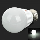 LeXing E27 3W 200lm 7000K 6-5730 SMD LED White Light Bulb Lamp (85~365V)