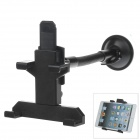 360 Degree Rotation Holder Mount w/ H20 Suction Cup + C59 Back Clamp for 5-7 Inch Mobile - Black