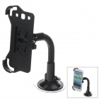 360 Degree Rotation Holder Mount w/ H20 Suction Cup for Samsung N9300 - Black