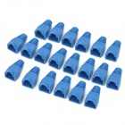 Schutz Ethernet RJ45 Modular-Stecker / Stecker Covers - Blue (20 PCS)