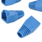 protector ethernet RJ45 modular plug / connector covers - azul (20 PCS)