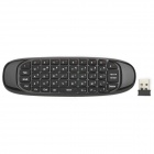 SY-T61 Rechargeable 2.4GHz Wireless Remote Controller / Mouse / Keyboard / Game Controller - Black