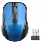 VMW-01 Wireless 800~1200 dpi Optical Mouse - Blue + Black