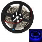 Dual-Row 14W 3000lm 465 ~ 475nm 600-SMD 5050 LED Blue Car Decoration Light Strip (12V / 5m)