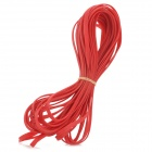 DIY Protective 6mm PET Braided Cable Expandable Mesh Sleeve - Red (15m)