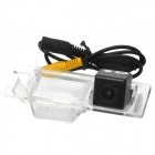 Convenient DIY Wired 170' CMOS Parking Camera for Fiat / Broadvi Cars - Black + Transparent