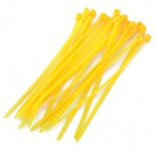 UV Nylon Cable Zip Ties - Yellow (20 PCS)