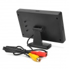"Desktop 4.3"" TFT LCD Car Rearview Monitor w/ 2-CH Video Input - Black"