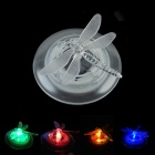 CMI LEH-32020A Solar Dragonfly Style 1-RGB LED Lawn Lamp / Garden Light - White