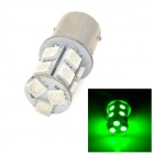 1156 1.5W 150lm 520nm 13-SMD 5050 LED Green Car Steering / Brake / Backup Light (12V)