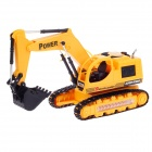 8035E Mini Rechargeable 5-CH Radio Control R/C Excavator Digger - Yellow