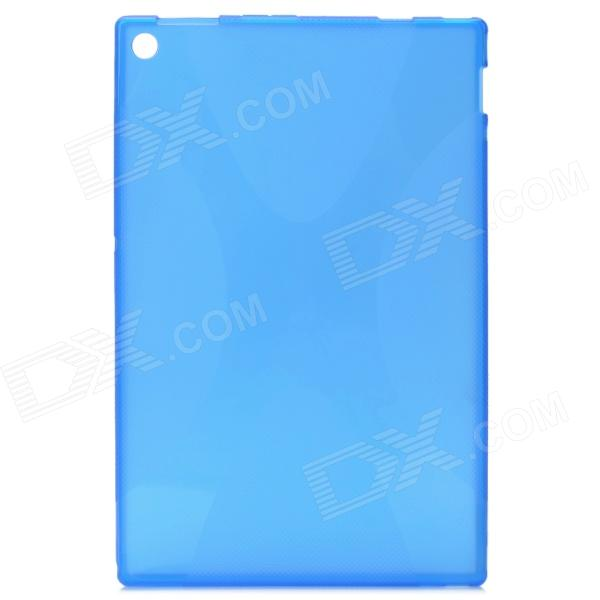 Protective PVC + TPU Back Case for Sony Xperia Tablet Z / Sony SGP341CN/B CN1 + More - Blue protective tpu back case for sony xperia zl lt35h l35h blue