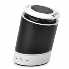 3W Bluetooth V3.0 + A2DP Rotary Speaker w/ Microphone for Iphone 5 / Ipad + More - Black + White